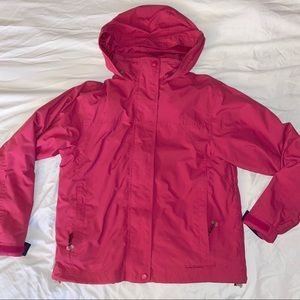 LL Bean - 3-in-1 Jacket with Fleece lining Sz S